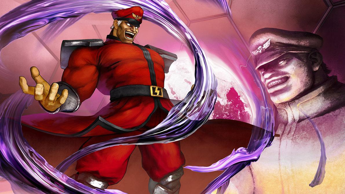 M. Bison Street Fighter