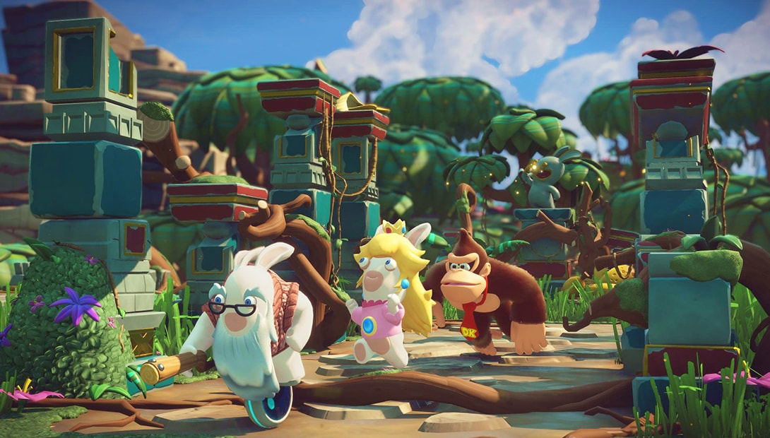 Mario + Rabbids Kingdom Battle Donkey Kong Adventure