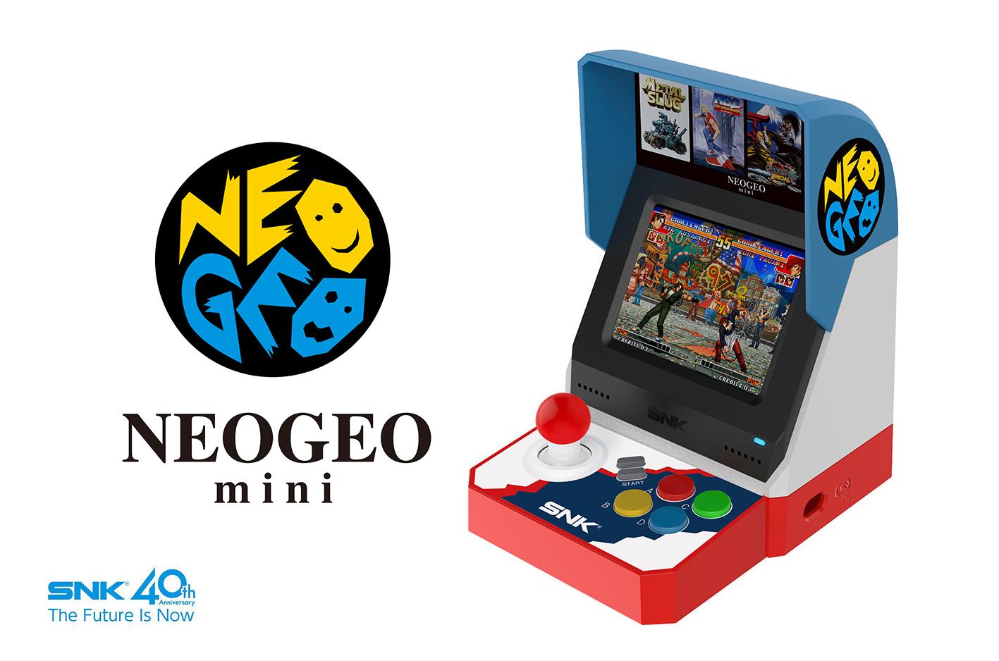 Neo Geo Mini: arrivano da SNK l'annuncio ufficiale e le prime immagini