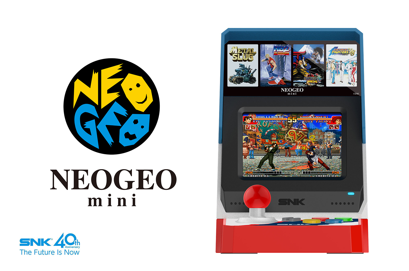 È ufficiale: voglio il Neo Geo Mini (annunciato ora ufficialmente da SNK)
