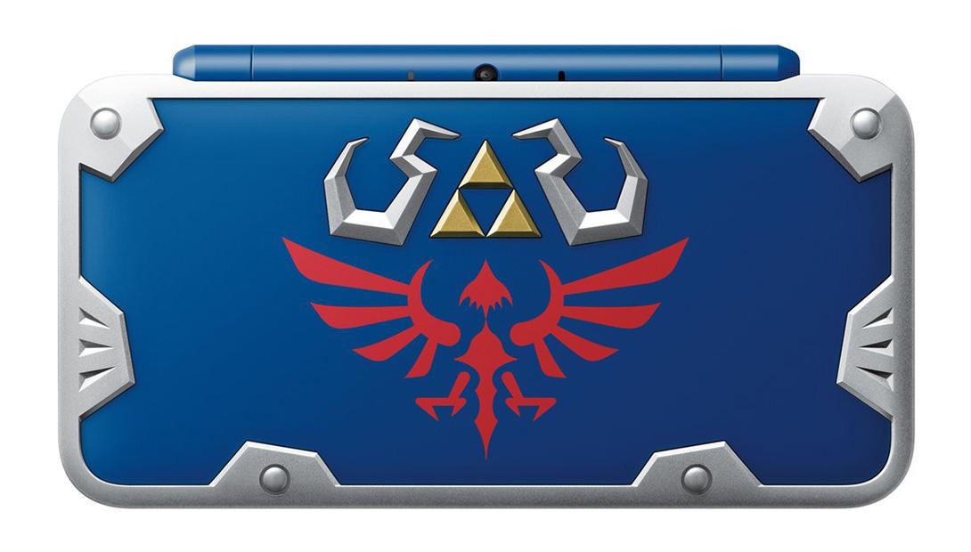 Nintendo 2DS XL Hylian Shield Edition