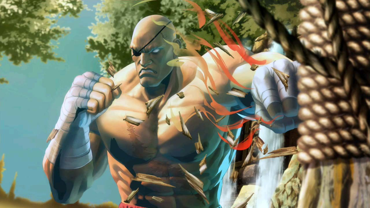 Sagat Street Fighter