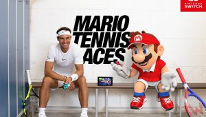 Mario Tennis Aces, l'imperdibile sfida tra Nadal e Mario!