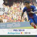 PES 2019 – Anteprima E3 2018