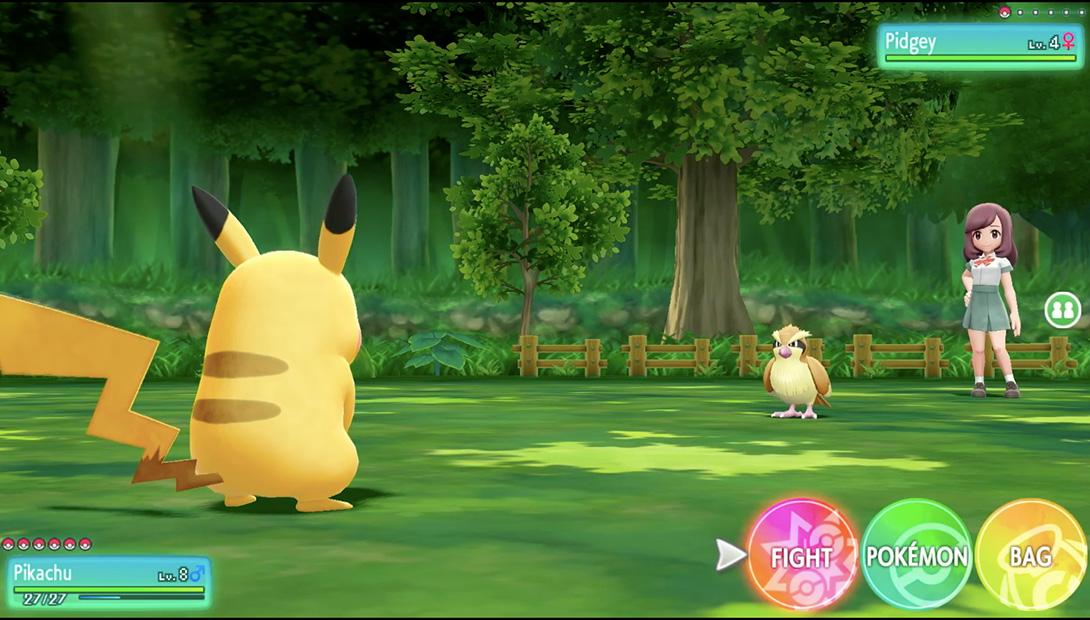 Pokémon Let's go Eevee Pikachu