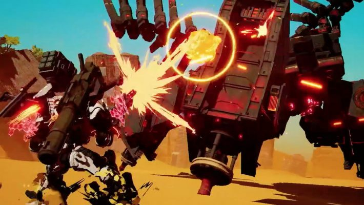 Daemon X Machina, mecha e metal giapponese in un gioco per Switch