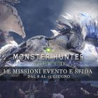 Monster Hunter: World – Le missioni evento e sfida dall'8 al 15 giugno