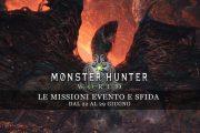 Monster Hunter: World – Le missioni evento e sfida dal 22 al 29 giugno