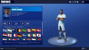 Fortnite, ecco le skin dei Mondiali di Russia 2018 (e c'è anche l'Italia)