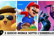 5 giochi mobile sotto l'ombrellone