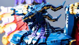 Un fan di Final Fantasy crea un enorme Bahamut con i LEGO