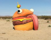 Fortnite incontra la vita reale: Durr Burger ritrovato nel deserto californiano