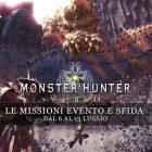 Monster Hunter: World – Le missioni evento e sfida dal 6 al 13 luglio