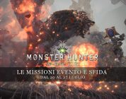 Monster Hunter: World – Le missioni evento e sfida dal 20 al 27 luglio