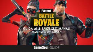 Fortnite: Battle Royale – Guida alle Sfide Settimanali – Stagione 4 Settimana 9