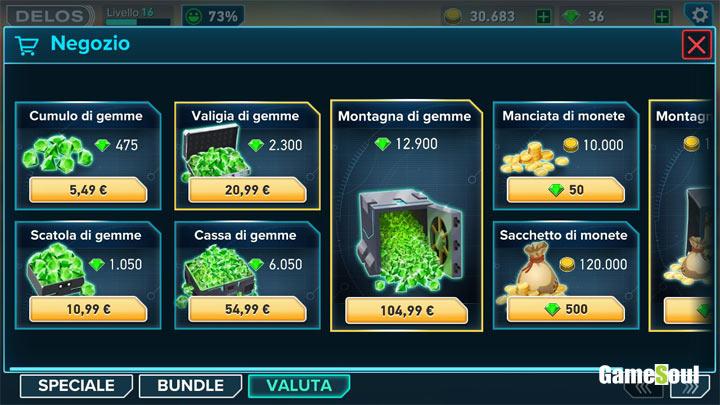 Westwood - ottenere gemme gratis