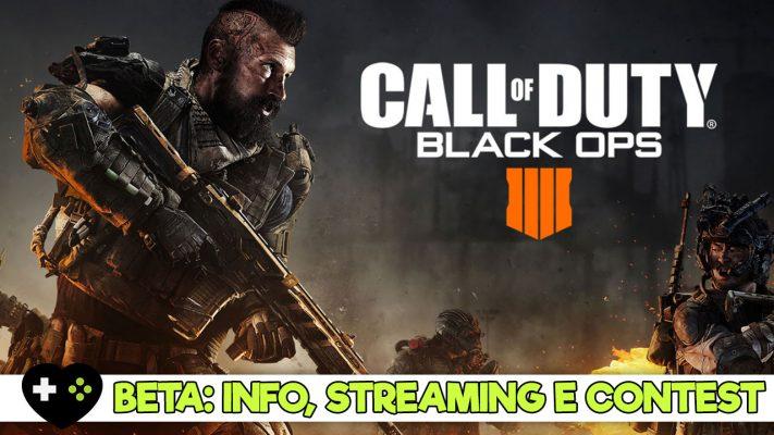 Beta di COD Black Ops 4: info, streaming e come ottenerla