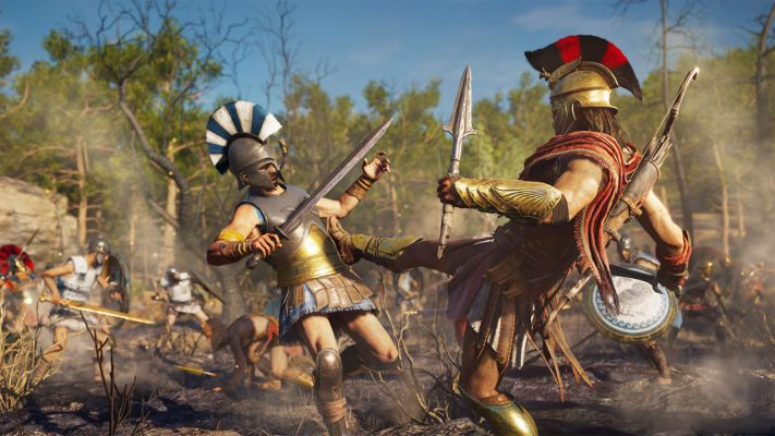 Assassin's Creed Odyssey guida la Gamescom 2018 di Ubisoft