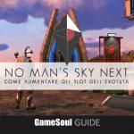 No Man's Sky NEXT – Come aumentare gli slot dell'Exotuta   GUIDA