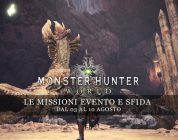 Monster Hunter: World – Le missioni evento e sfida dal 3 al 10 agosto