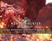 Monster Hunter: World – Le missioni evento e sfida dal 10 al 17 agosto