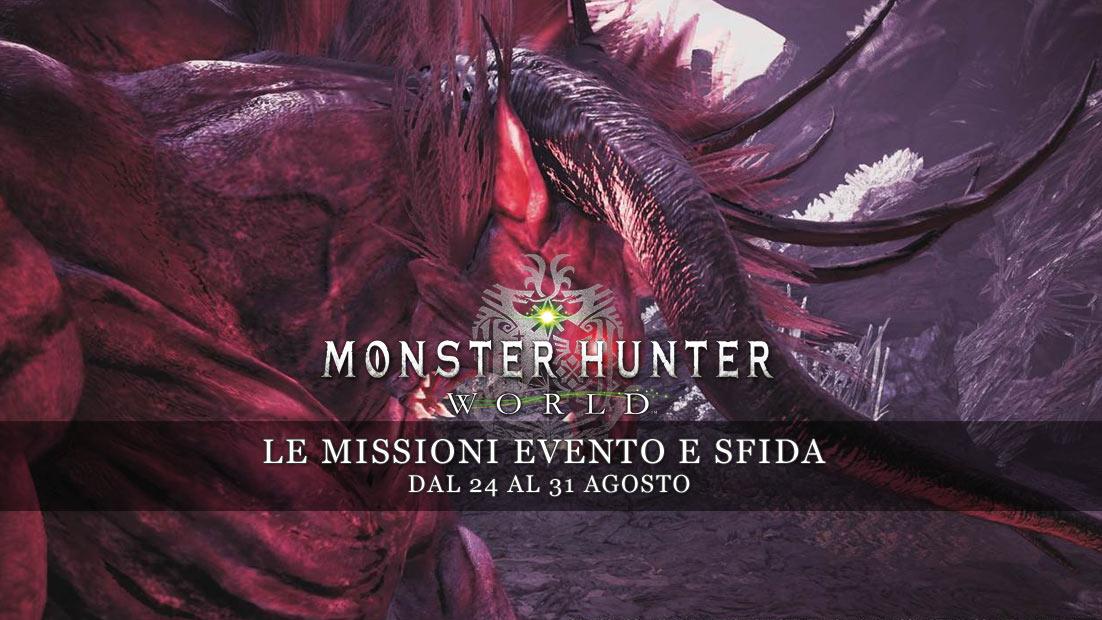 a011fd6cee85 Monster Hunter  World – Le missioni evento e sfida dal 24 al 31 agosto