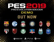 La demo di PES 2019 è disponibile su PS4, Xbox One e PC
