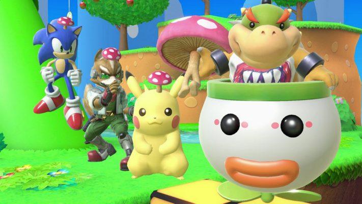 I dettagli della prima patch di Super Smash Bros. Ultimate