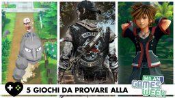 5 giochi da provare alla Milan Games Week