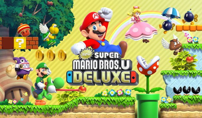 Il nuovo Mario per Switch è New Super Mario Bros U Deluxe