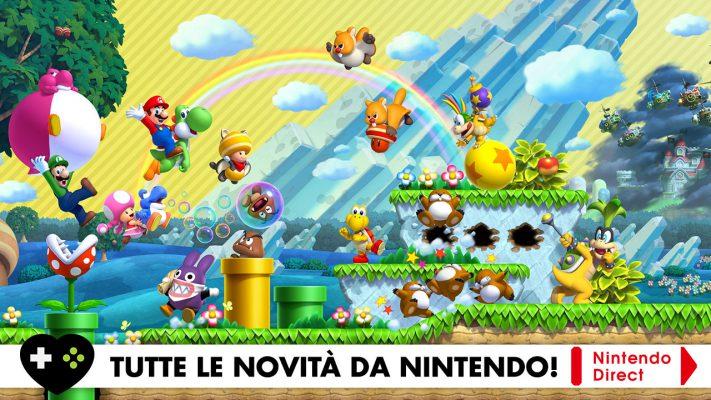Tutte le novità dal Nintendo Direct!