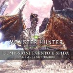 Monster Hunter: World – Le missioni evento e sfida dal 7 al 14 settembre