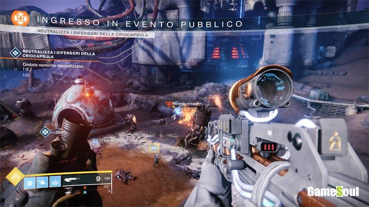 Destiny 2 come sbloccare l'evento eroico della criocapsula