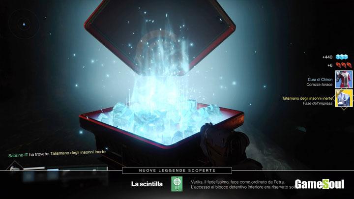 Destiny 2: i Rinnegati - Come riparare il talismano degli insonni rotto