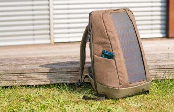 Sunnybag Iconic, lo zaino smart a energia solare è su Kickstarter