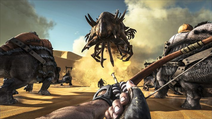 Ark: Survival Evolved arriva su Switch a fine novembre