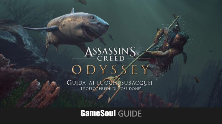 "Assassin's Creed: Odyssey – Guida ai luoghi subacquei (Trofeo ""Erede di Poseidone"")"