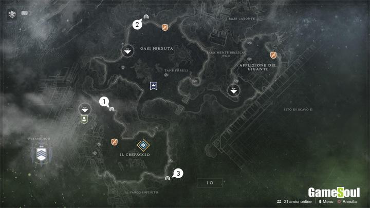 Destiny 2 - Guida ai Settori Perduti: Io