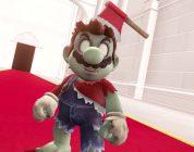 Mario in versione zombie per Halloween