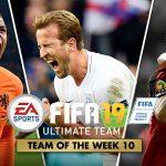FIFA Ultimate Team – TOTW 10 – La Squadra della Settimana 10