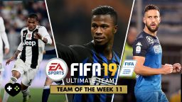 FIFA Ultimate Team – TOTW 11 – La Squadra della settimana 11
