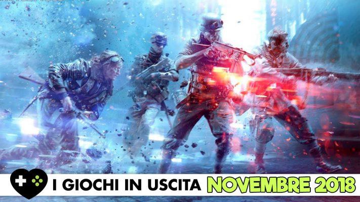 I Giochi In Uscita – Novembre 2018