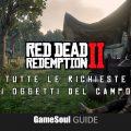 Red Dead Redemption II – Tutte le richieste di oggetti del Campo  | Guida