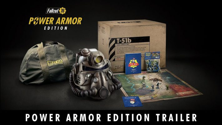 C'è un problema con la Power Armor Edition di Fallout 76