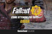 Fallout 76 – Come ottenere più Tappi a inizio gioco | GUIDA