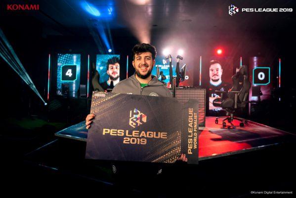 Il Campione Europeo della PES League 2019 Season 1 è l'italiano Ettorito