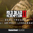 Red Dead Redemption 2 – Dove trovare gli Animali Leggendari | Guida