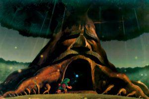 The Legend of Zelda Ocarina of Time artwork