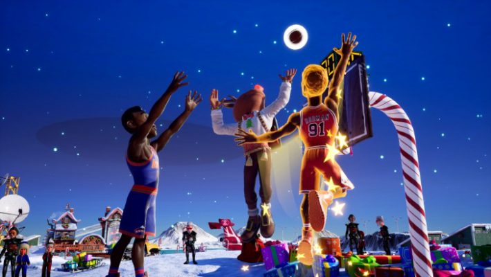 Sarà un Natale pieno di Leggende con NBA 2K Playgrounds 2!