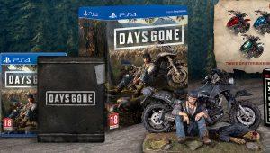 Days Gone: mostrate tutte le Edizioni Speciali